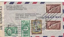 More details for dominican republic: censored cover: ciudad trujillo to new york, 2 june 1942