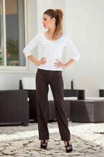 Pantaloni da donna affusolati marrone
