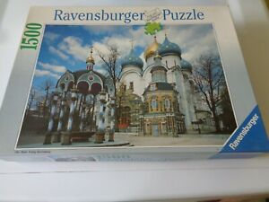 Ravensburger 1500 Pcs. Puzzle Russian Monastery No.16 387 8
