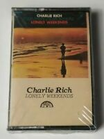 Charlie Rich Lonely Weekends Sun Cassette Tape