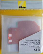 Nikon SJ-3 Color Filter Set for SB-900 Genuine Nikon