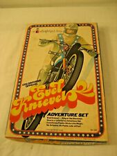 "1974 EVEL KNIEVEL COLOR FORMS MISSING 1 FIRE PIECE ""LOOK"""