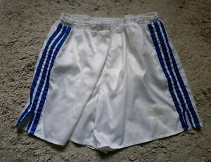 ADIDAS Glanz Nylon Shorts Sampdoria Sporthose Laufhose Retro Shiny Vintage D6