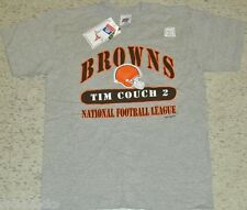 Tim Couch shirt Vintage 90s MINT Cleveland Browns sz Large 2 sided jersey T NEW
