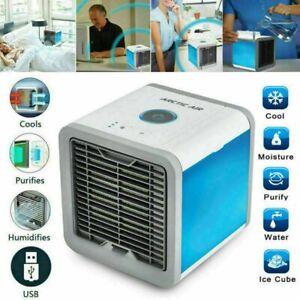 Rafraîchisseur D'air Climatiseur Ventilateur Humidificateur USB Autonome