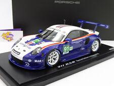 """Spark # Porsche 911 GT3 RSR """" Rothmans Design """" 24h. Le Mans 2018 1:18 911 pcs"""