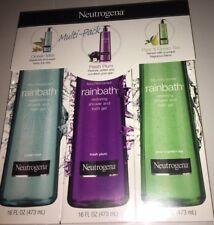 Neutrogena Rainbath Ocean Mist Fresh Plum Pear & Green Tea Multi-Pack 16 oz Each