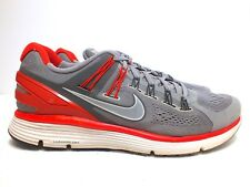 Nike LunarEclipse+ 3 Men's Running Shoes Sprt Gray/Pimiento/Mid Fog Size 12(US)