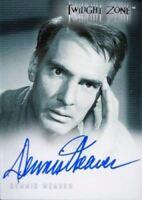 Twilight Zone 2 The Next Dimension Dennis Weaver Autograph Card A-36