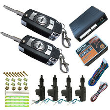 car remote keyless entry central lock system with flip key remotes