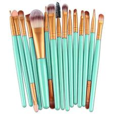 15pcs Makeup Brush Set tools Make-up Toiletry Kit Wool Make Up Brush Set