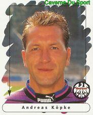 039 ANDREAS KOPKE GERMANY EINTRACHT FRANKFURT STICKER FUSSBALL 1996 PANINI