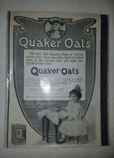 Antique 1906 QUAKER OATS Ad