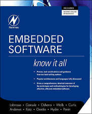Embedded Software: Know It All (Newnes Know It All), Good Condition Book, Labros