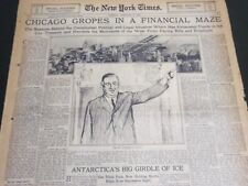 1930 FEB 2 NEW YORK TIMES SPECIAL & AUTO - BIG BILL TILDEN IN ACTION - NT 7002