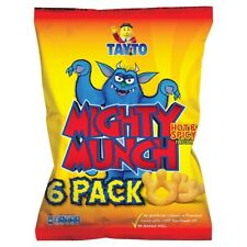 TAYTO Mighty Munch - Hot and Spicy flavour snacks from Ireland (22 x 26g packs)