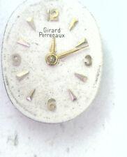 Antique Gerard Perregaux 17j Swiss Watch Movement No Crown Steampunk  #P338