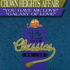 You Gave Me Love/Galaxy Of Love - Crown Heights Affair (2006, CD NIEUW)
