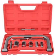 Valve Spring Compressor Automotive Engine intake exhaust head C clamp Tool Kit