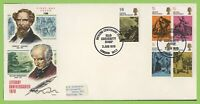 G.B. 1970 Literary Anniversaries set on Philart First Day Cover, Old Curiosity S