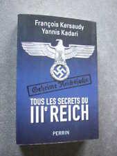 GUERRE 1939 45  TOUS LES SECRETS DU IIIe REICH   TBE