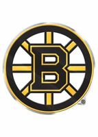 Boston Bruins Emblem Sticker Raised 3D Metal Auto Emblem