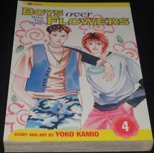 BOYS OVER FLOWERS Vol.4 Book Manga Graphic Novel Comic