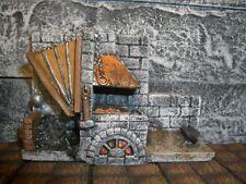 Smithy Thomarillion Unpainted Resin Miniature Terrain Dwarven Forge D&D