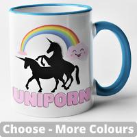 Uniporn Mug Unicorn Rude Funny Novelty Gift Joke Present Adult Humour Christmas