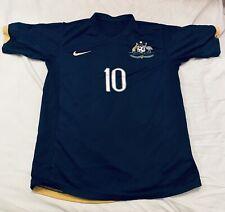 Australia Away football shirt 2006-2008 Soccer Jersey Rare AUSSIE Nike S Kewell