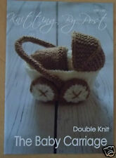BABY PRAM TOY KNITTING PATTERN INSTRUCTIONS TO MAKE YOURSELF IDEAL  BABY SHOWER