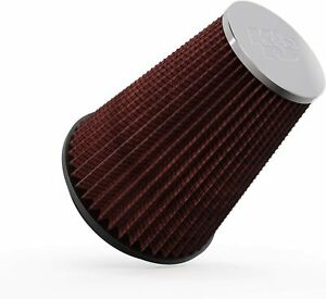K&N  Clamp-On Air Filter Replacement Tapered Round Shape Washable  RC-5046