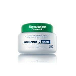 Somatoline Cosmetic Anticellulite Snellente 7 Notti crema effetto caldo 400 ml