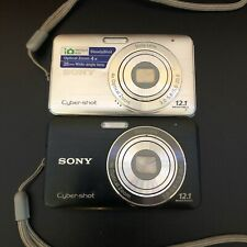 Sony Cyber-shot DSC-W310 12.1MP Digital Camera - Black Or Silver