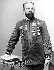 Historical  Photograph of Band Leader John Philip Sousa (1900) USMC Band  8x10