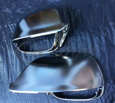 NEW Audi Q5/SQ5/Q7 Matt Aluminium Replacement Mirror Covers - UK seller -