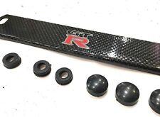 Colored Real Carbon Fiber License Plate Frame for GTR Nissan SkylineR32/33/34/35