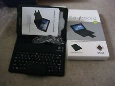 Samsung P3100/6200 Black Bluetooth Keyboard Case Brand New