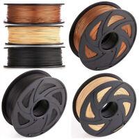 1.75mm 1kg/2.2lb 3D Printing Filament Wood/Red Copper/Carbon Fiber fr 3D Printer