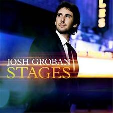 Josh Groban Stages 2 Extra Tracks Deluxe Edition DIGIPAK CD NEW