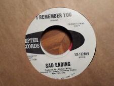 Promo Zepter 45 Record / Sad Ending / I'M Nur Thinking Of You/ I Remember You