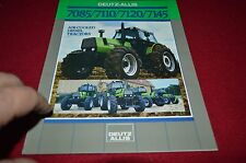 Deutz Allis 7085 7110 7120 7145 Tractor Dealers Brochure BWPA