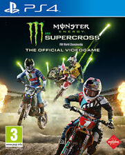 Monster Energy Supercross Motocross (Guida / Racing) PS4 Playstation 4 IT IMPORT