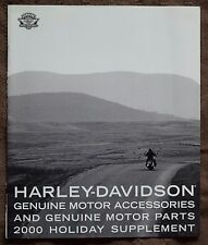 HARLEY-DAVIDSON 2000 HOLIDAY SUPPLEMENT ACCESSORIES & PARTS