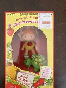 New Nib vintage Kenner Strawberry Shortcake APPLE DUMPLIN' dumpling Doll 43050