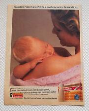 A462-Advertising Pubblicità-1985-PLASMON BISCOTTINI PRIMI MESI
