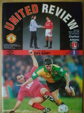 1993/94 FA CUP 6th Round MANCHESTER UNITED v. CHARLTON ATHLETIC 12 March, 1994