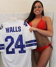 Everson Walls signed  jersey DALLAS COWBOYS Interception Leader Inscription
