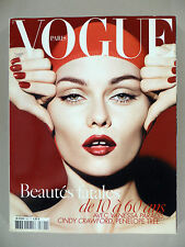 Vogue Magazine - French Edition - November, 2008 - Vanessa Paradis - Vogue Paris