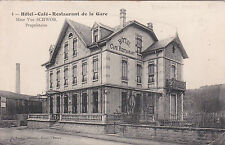 RAON-L'ETAPE 4 hôtel café resto de la gare proprio Mme SCHWOB éd larue écrite